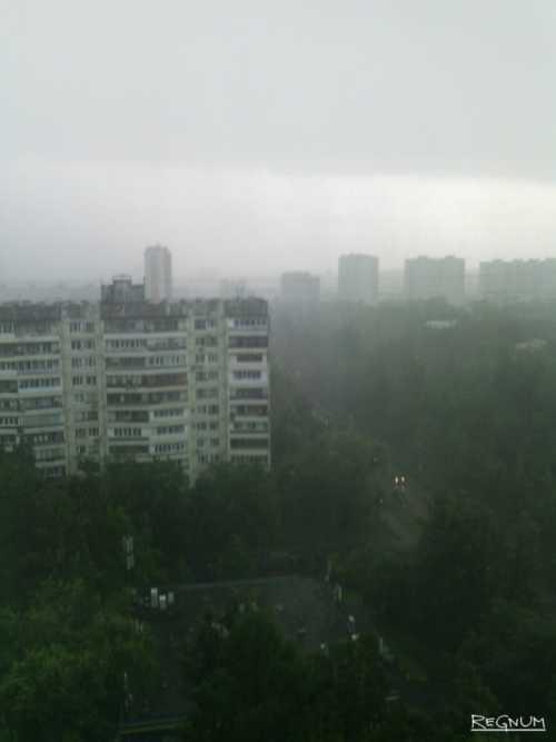Погода в Москве: хватит заливать