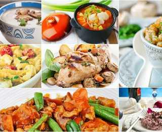 7 ужинов: меню для семейных вечеров на неделю