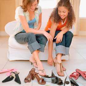 Выбираем летнюю обувь с открытой пяткой