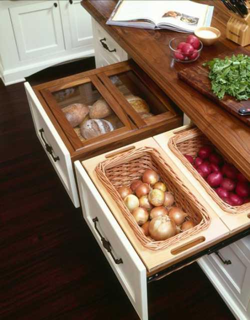 Хранение овощей в квартире: несколько советов