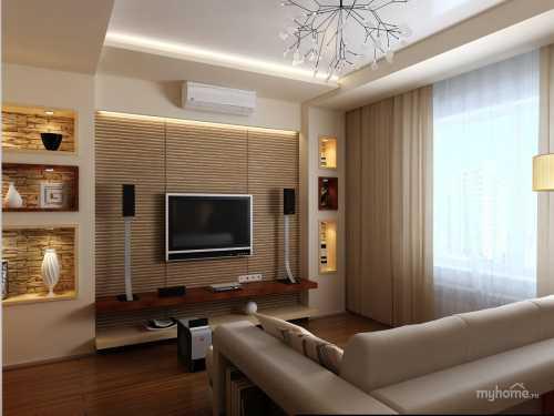 Дизайн квартиры - реальные фото дизайна квартир