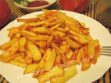 Картошка фри в домашних условиях: простой рецепт